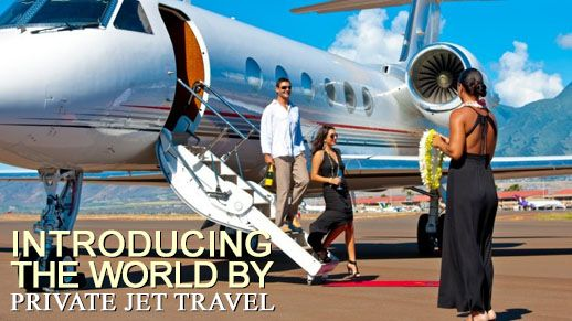 Introducing the world by private jet travel