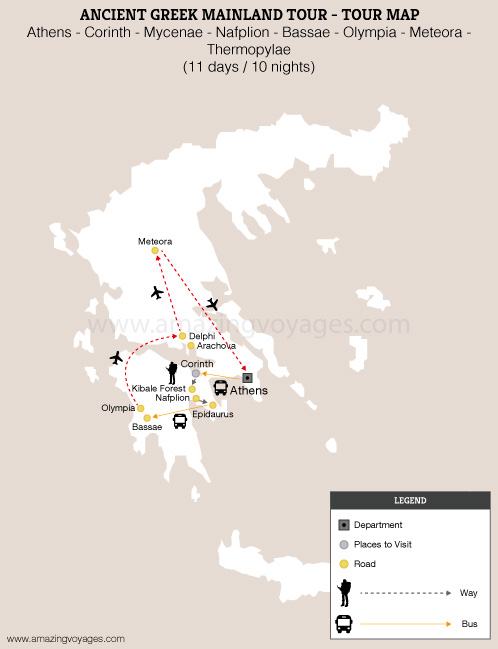 Ancient Greek Mainland Tour