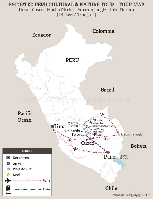 Escorted Peru Cultural & Nature Tour