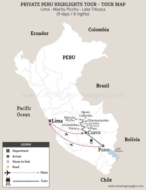 Private Peru Highlights Tour
