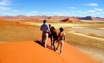 Namibia combined - Namib beauty & wine in South Africa
