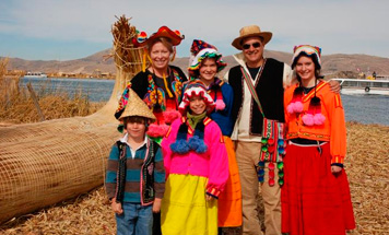 Escorted Peru Christmas Tours - Lake Titicaca